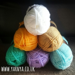 What's my favourite current WIP? Well, I'm glad you asked … www.yarnya.co.uk Stylecraft Yarns