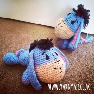 My all time favourite finished projects (so far) www.yarnya.co.uk Eeyore