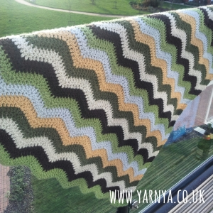 My all time favourite finished projects (so far) www.yarnya.co.uk Ripple Blanket