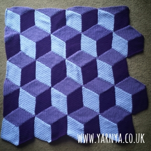 This will be a beautiful cube blanket ... eventually www.yarnya.co (1)
