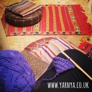 This will be a beautiful cube blanket ... eventually www.yarnya.co.uk