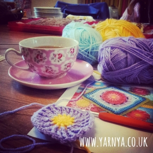 What's my favourite current WIP Well, I'm glad you asked … www.yarnya.co.uk Crochet and tea