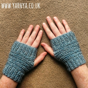 I made my first knitted project ... I can knit! www.yarnya.co.uk