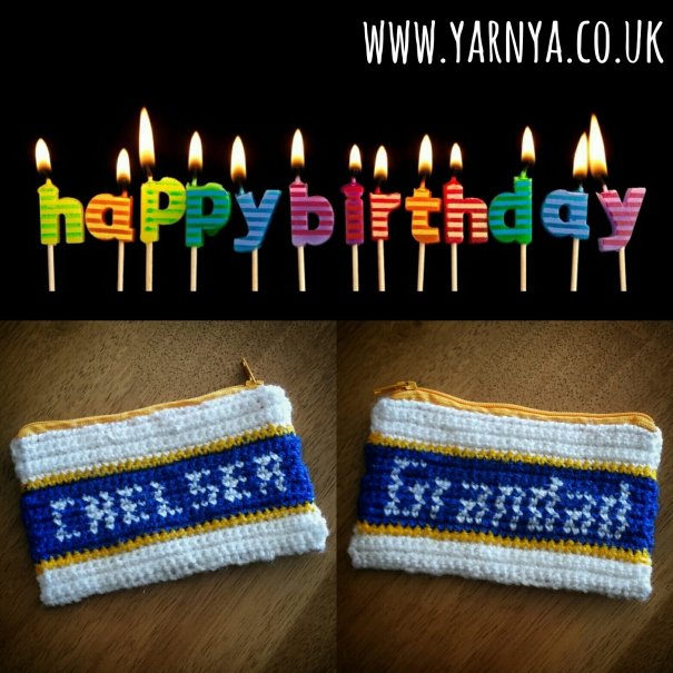 Crochet makes the best personalised gifts www.yarnya.co.uk