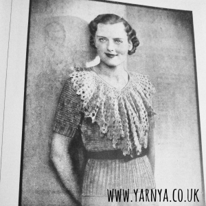 A step back in time - Crochet books from days gone by (1920s - 1940s) www.yarnya.co.uk