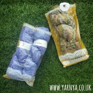 Yarn, yarn, beautiful yarn www.yarnya.co.uk Knitting in France Etsy Hand Spun and Hand Dyed Yarn