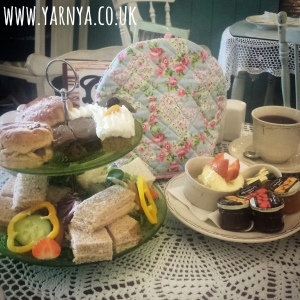 Sunday Sevens (6th September 2015) www.yarnya.co.uk Afternoon Tea