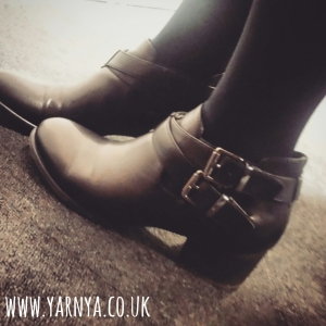 Sunday Sevens (4th October 2015) www.yarnya.co.uk New Boots