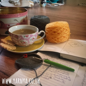 Sunday Sevens (11th October 2015) www.yarnya.co.uk knit and natter