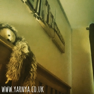 Sunday Sevens (11th October 2015) www.yarnya.co.uk bed sloth