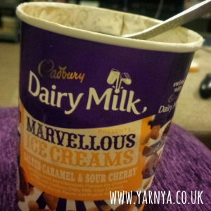 Sunday Sevens (11th October 2015) www.yarnya.co.uk ice cream