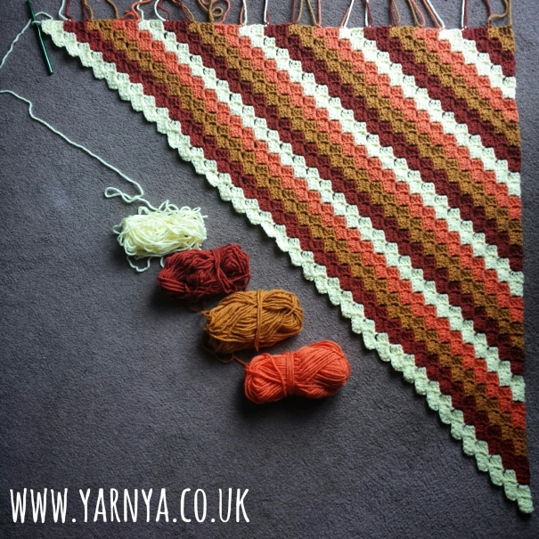 Friday Find (16th October 2015) - Corner to Corner Crochet Blanket www.yarnya.co.uk