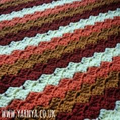 Friday Find (16th October 2015) - Corner to Corner Crochet Blanket www.yarnya.co.uk