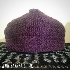 Finished - The Knitted Tea Cosy is DONE! www.yarnya.co.uk