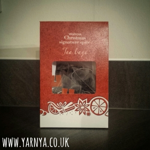 Sunday Sevens (25th October 2015) www.yarnya.co.uk christmas tea waitrose