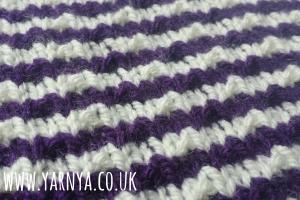 Stripes ... knitted stripes galore! www.yarnya.co.uk