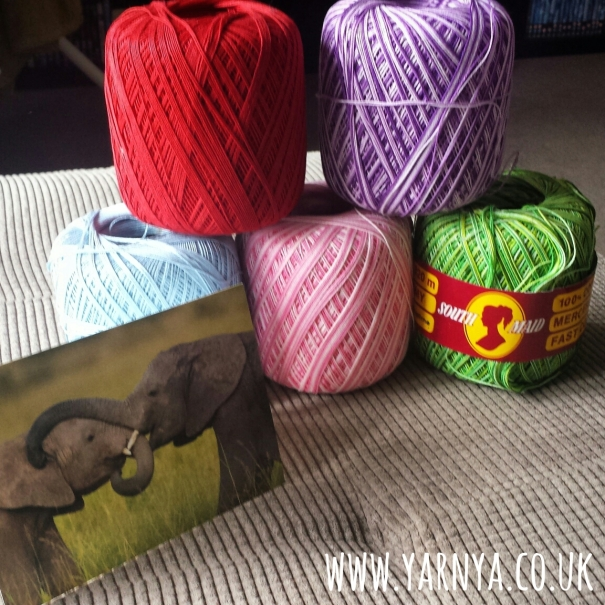 Friday Find (27th November 2015) - Crocheting with teensy thread www.yarnya.co.uk