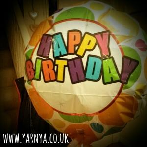 Sunday Sevens (8th November 2015) www.yarnya.co.uk