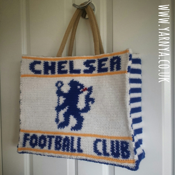 BIG REVEAL - The completed Chelsea Football Club Bag